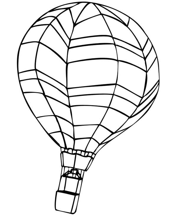 Hot air balloon coloring pages for adults